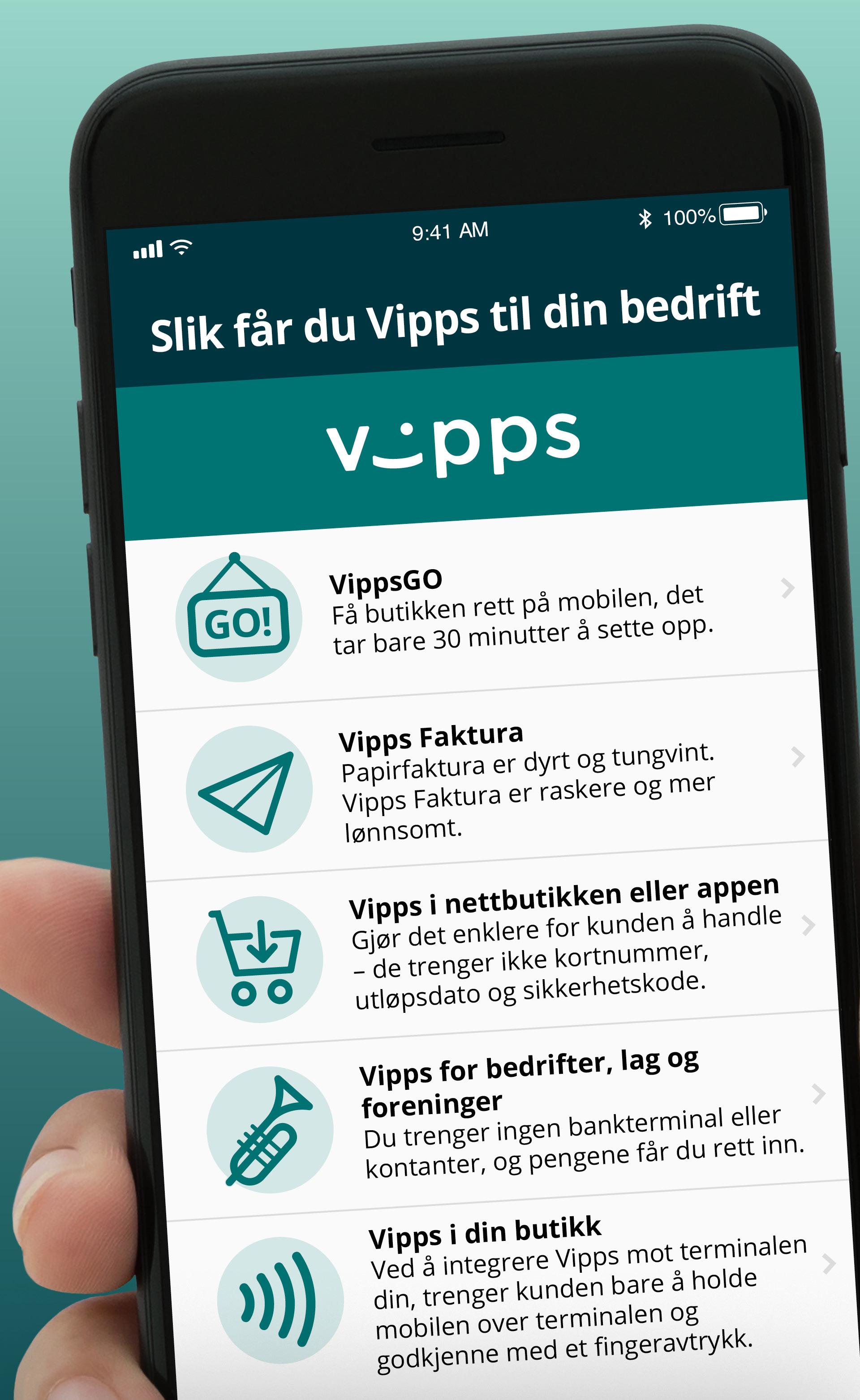 608fd73c Slik kan din bedrift ta betalt med Vipps - DNB Nyheter