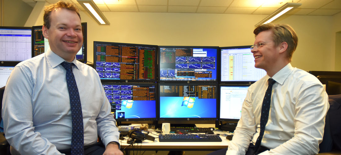Christian og Jon er forvaltere i DNB Miljøinvest