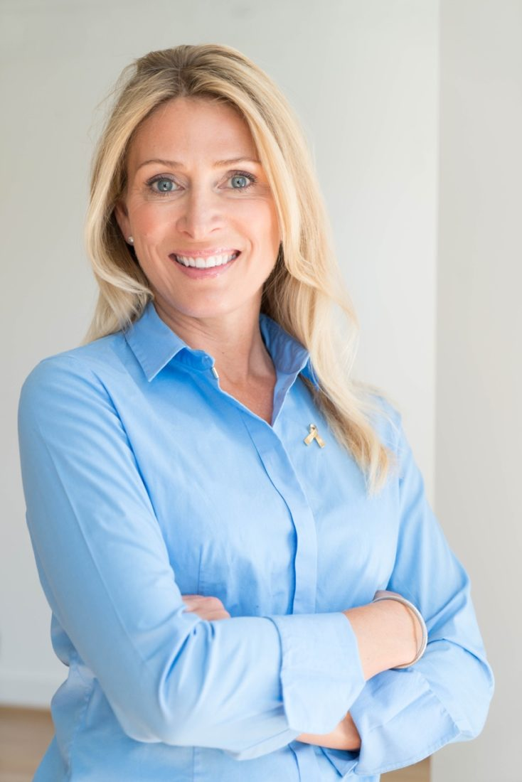 Trine er leder i Barnekreftforeningen