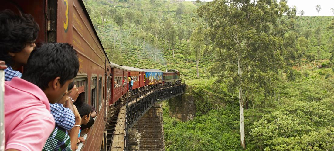 eksotiske steder togreise sri lanka